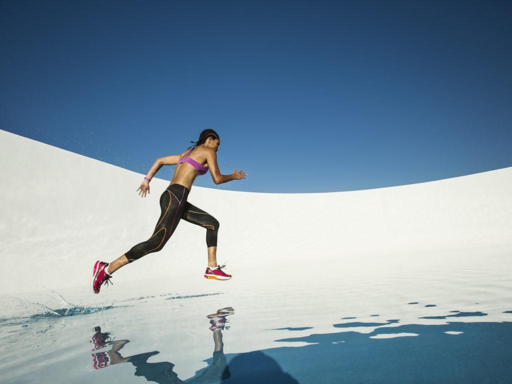 bieganie naśniegu