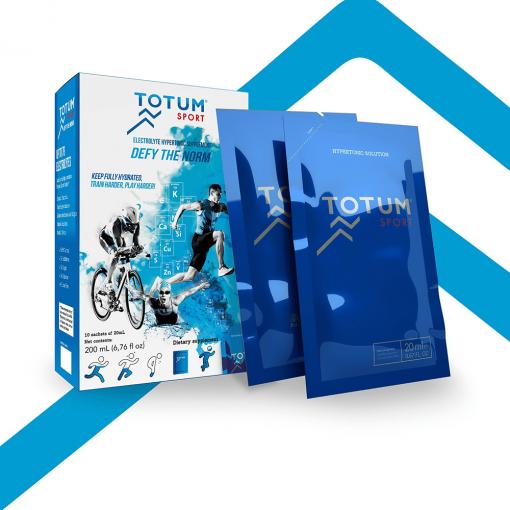 Totum Sport 78 elektroliów z oceanu błyskawiczne nawodnienie dla sportowców